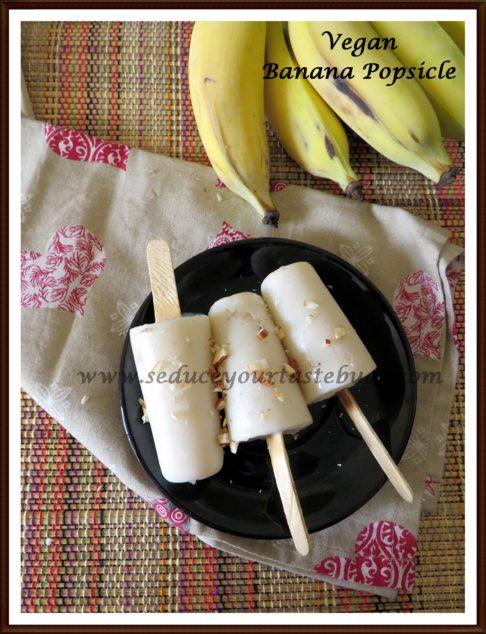 Vegan Banana Popsicle Recipe