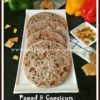 Papad and Capsicum Stuffed Paratha Recipe